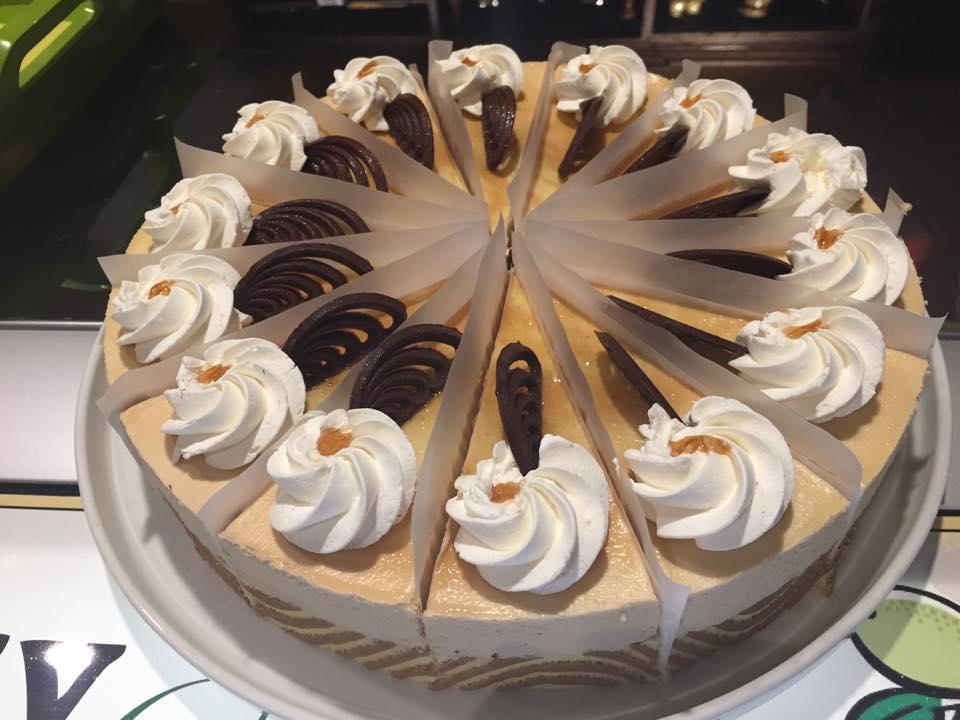Fresh cheesecake at Green Olive I