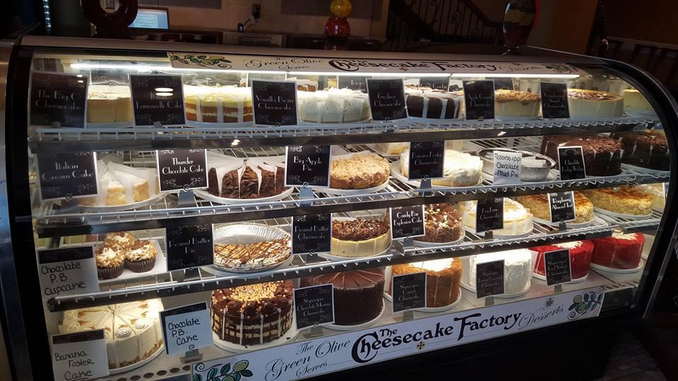 Desserts at Green Olive I