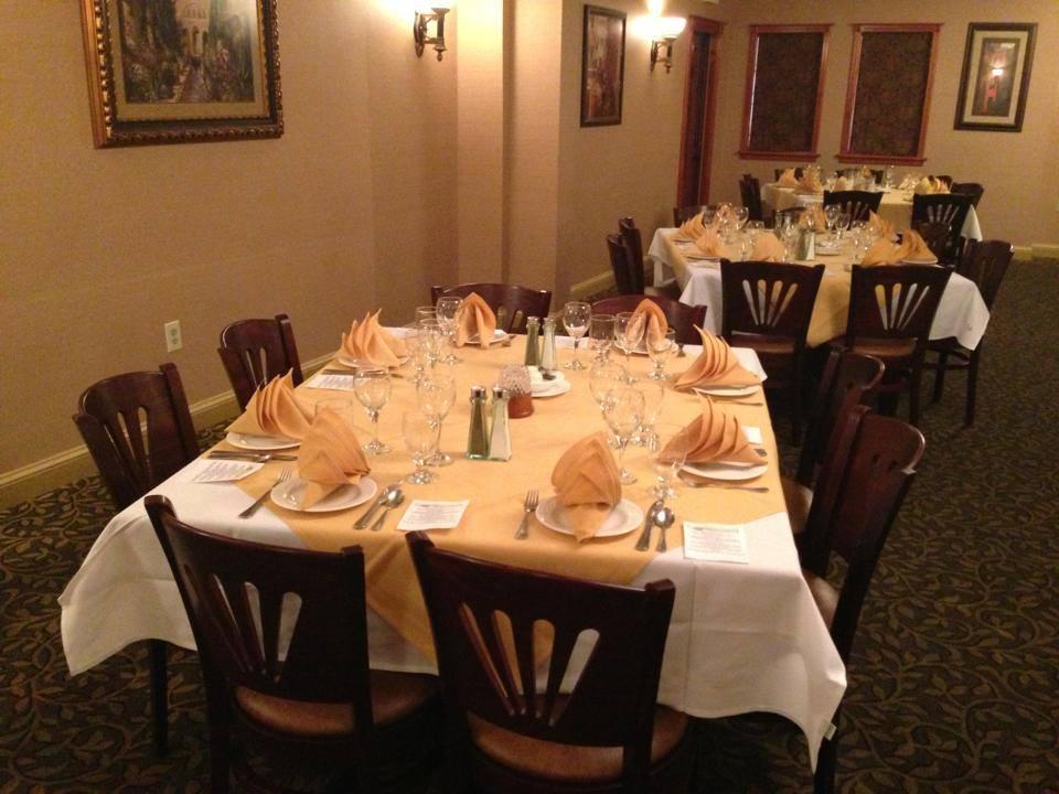 Banquet facilities at Green Olive I in Bridgeton, NJ